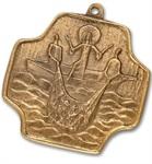 """Bronzekreuz """"Menschenfischer"""""""