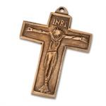 """Bronzekreuz """"Corpus"""""""