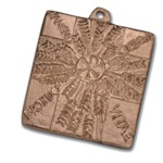 "Bronzekreuz - ""Brot des Lebens - Panem Vitae"""