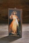 Bild auf Holz,  Format ca. 15 x 7 cm