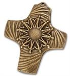 """Bronzekreuz """"Wir reichen uns die Hände"""""""