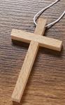 Holzkreuz aus Buche