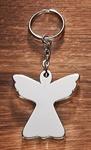 """Schlüsselanhänger """"Engel"""" aus Alu"""