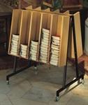 Gesangbuchwagen für ca. 180 Bücher
