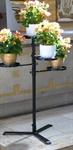 Blumenaufsatz mit Arm