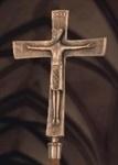 """Vortragekreuz, Bronze """"Christkönig"""""""