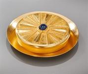 Versehpatene, Messing vergoldet, Durchmesser ca. 12 cm