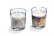 """Stern über Bethlehem"" Kerze im  Glas"