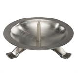 Tisch-Stand-Leuchter, silber