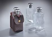 """Set """"Wein- und Wasserflasche"""" mit Etui"""