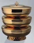 Ziborium, stapelbar, 3 Schalen