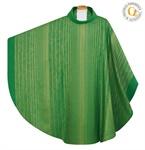 Kasel, Wollmischgewebe, grün
