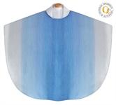 Marienkasel, Wollmischgewebe, blau