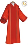 Dalmatik, Wollmischgewebe, rot