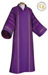 Dalmatik, Wollmischgewebe, violett