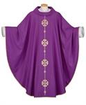 Kasel aus Wollmischgewebe, violett