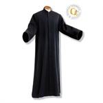 Priester-/Mesnertalar, Wolltrevira mit Arm und Knopfleiste Wolltrevira | Knopfleiste | 145 cm