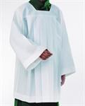 Ministranten-Chorhemd, Polyester mit gelegte Falten