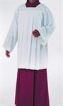 Ministranten-Chorhemd, Polyester mit gelegten Falten