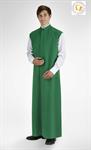 Ministrantentalar ohne Arm, grün, Polyester