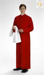 Ministrantentalar mit Arm, rot, Polyester