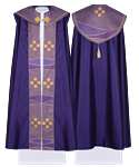 Rauchmantel, violett