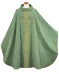 Kasel mit Innenstola, grün
