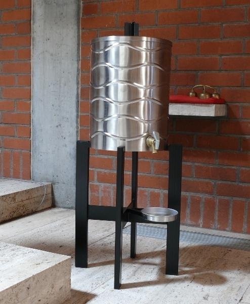 Weihwasserbehälter, Edelstahl, 30 Liter