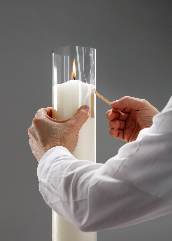 Kirchenbedarf friedrich windschutz f r osterkerzen for Osterkerzen modern