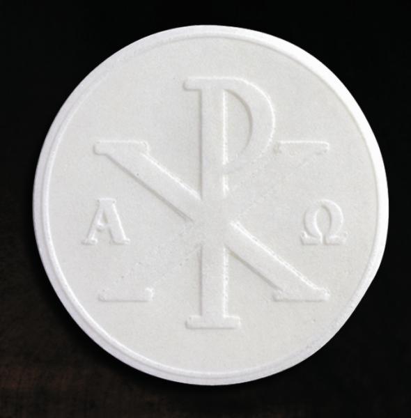 Priesterhostien mit Bild, weiß , 67 mm