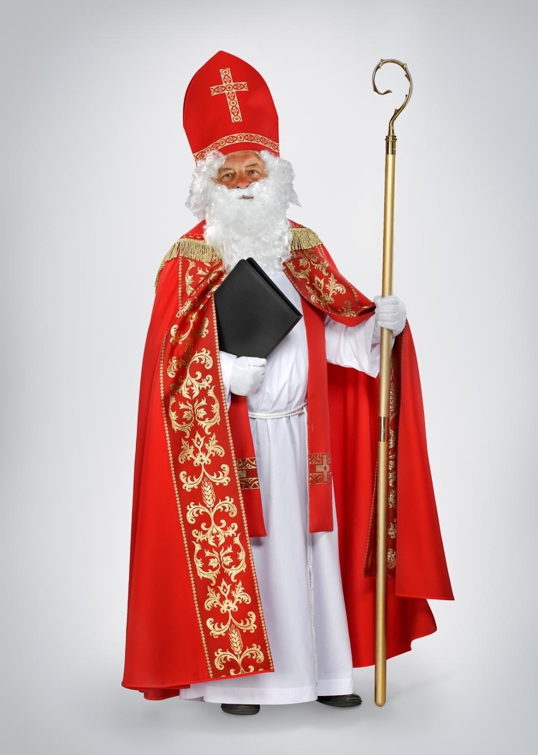 Nikolaus-Rauchmantel rot