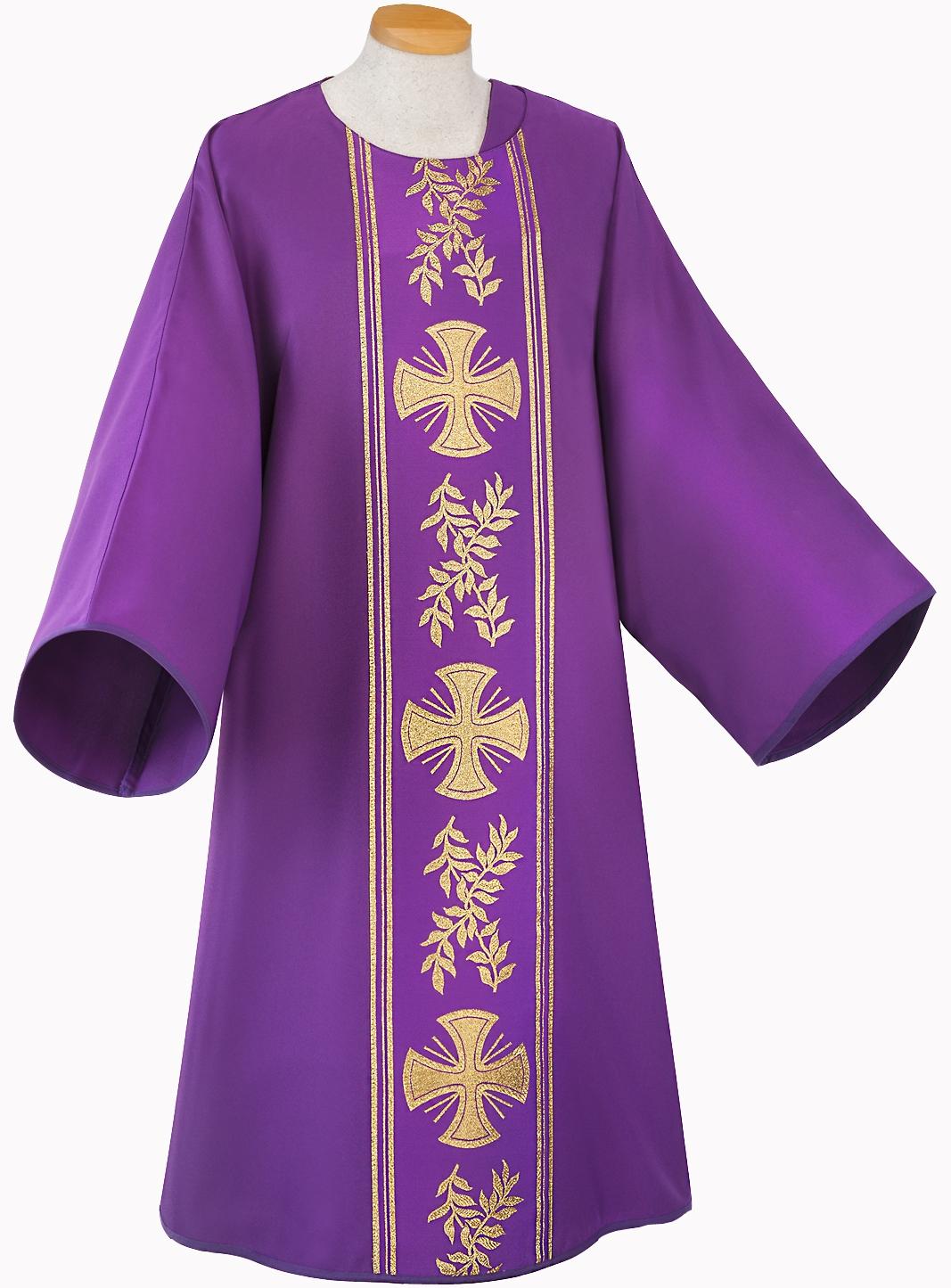 Dalmatik mit Stola, violett