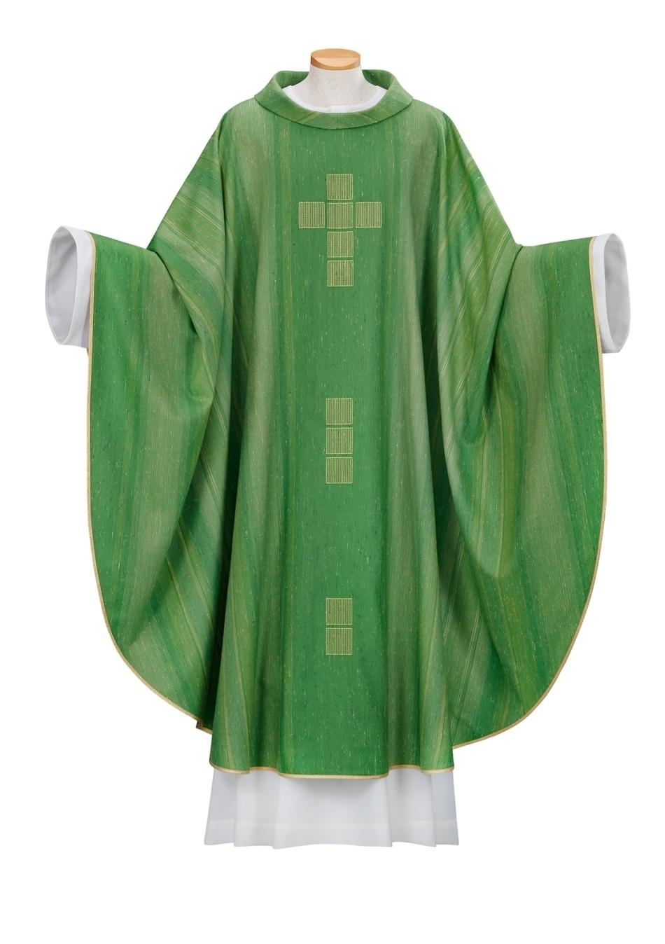 Kasel, grün